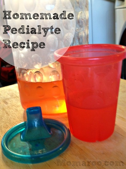 Homemade Pedialyte Recipe